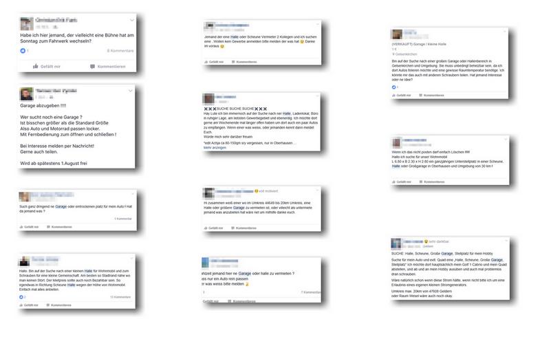 Facebook Verhalten